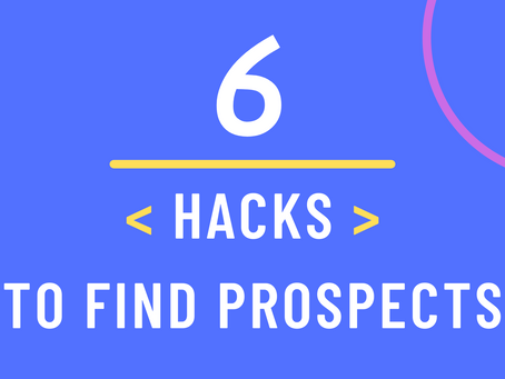 6 Untold Hacks to Find Potential Clients