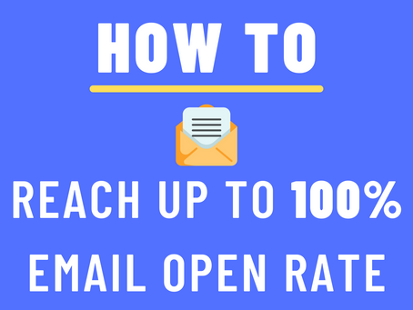 Email Open Rate 101