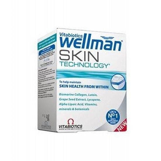 Vitabiotics Wellman Skin Technology (60 Tablets)
