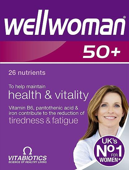 Vitabiotics Wellwoman 50+ (30 Tablets)