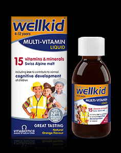 Vitabiotics Wellkid Multivitamin Liquid (150 ml)