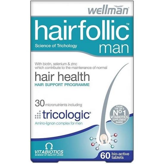 Vitabiotics Hairfollic Man (60 Tablets)