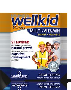 Vitabiotics Wellkid Multivitamin (30 Tablets)