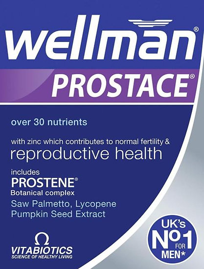 Vitabiotics Wellman Prostace (60 Tablets)