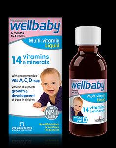 Vitabiotics Wellbaby Multivitamin Syrup (150 ml)