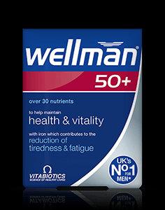 Vitabiotics Wellman 50+ (30 Tablets)