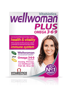 Vitabiotics Wellwoman Plus 3-6-9 (56 Tablets/Capsules)