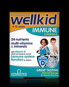 Vitabiotics Wellkid Immune Chewable (30 Tablets)