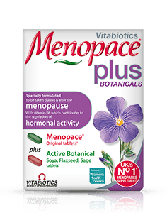Vitabiotics Menopace Plus Botanicals (56 Tablets)