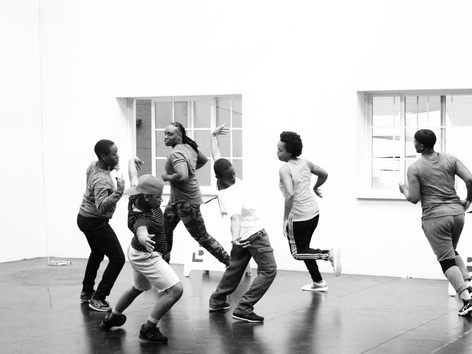 Rehearsal for Tail Feather