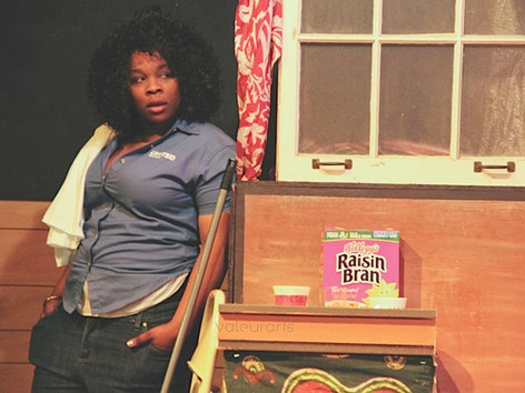 Streetcar- Rashida as Stanley