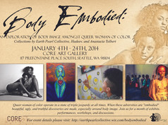 Body Embodied Gallery Show- Seattle
