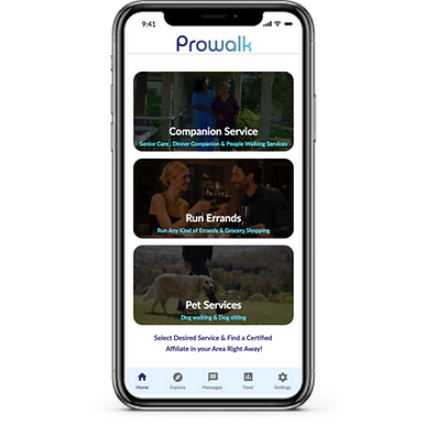 prowalk app iphone screen.png