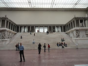 The Pergmum Altar in the Pergamon Museum