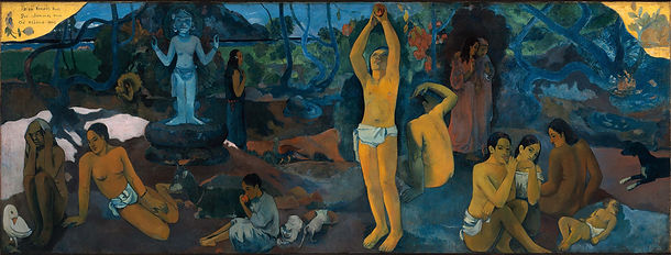 Where do we come from? What are we? Where are we going? by Paul Gaugin - 1898