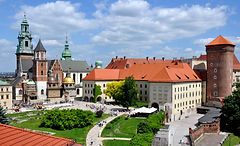 Wawel Castle and th Cathedral