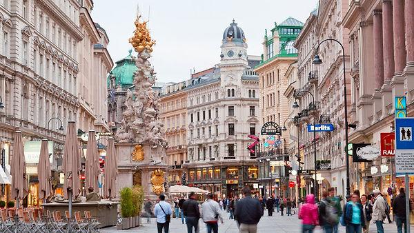 Pedestrian Street - Vienna