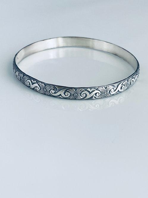 Bangle - Sterling silver bracelet