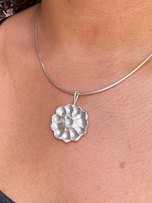 Pretty Posy Sterling Silver Necklace