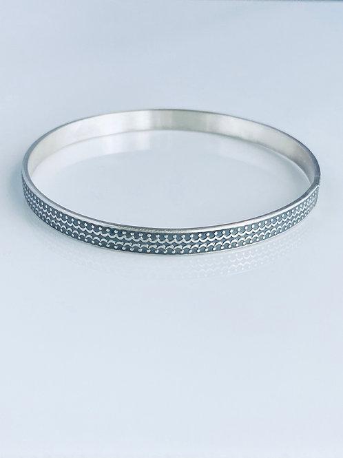 Regal Sterling Silver Bangle