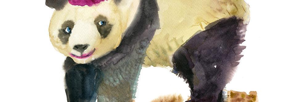 Party Panda Print
