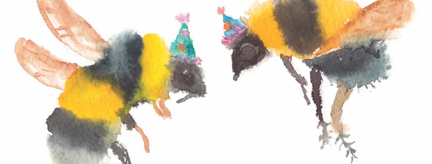 Party Bees Birthday Bard