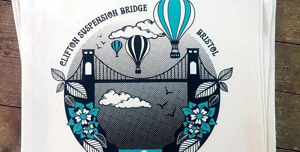 Clifton Suspension Bridge Tote
