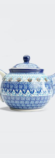 Medium teapot marrakesh blue