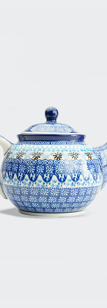 Medium teapot marrakesh blue