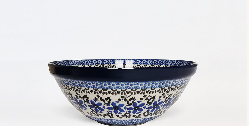 Medium serving bowl in Periwinkle 24cm