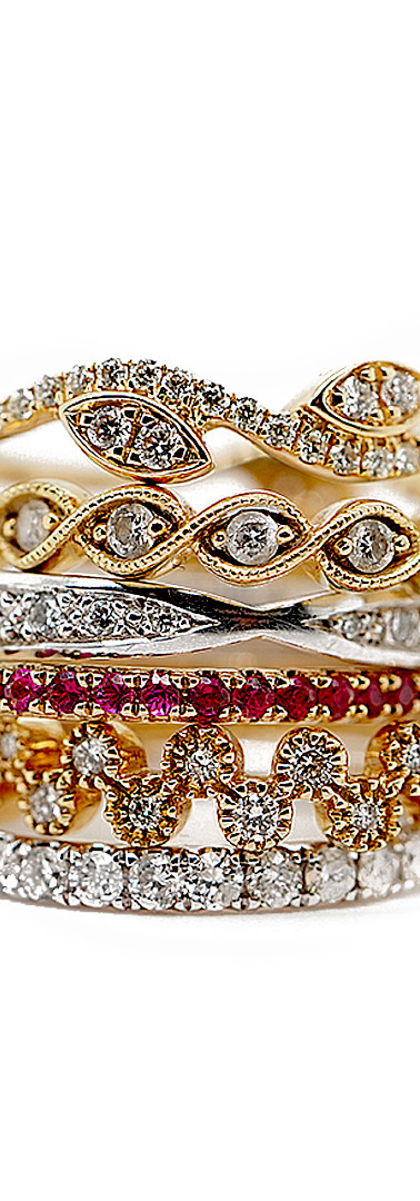 Delicate Rings Stack