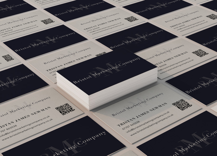 Bristol Marketing Company Business Cards