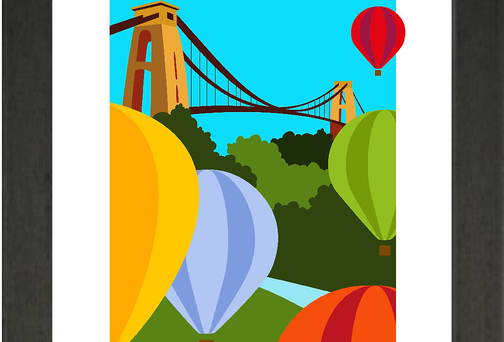Bridge & Balloons