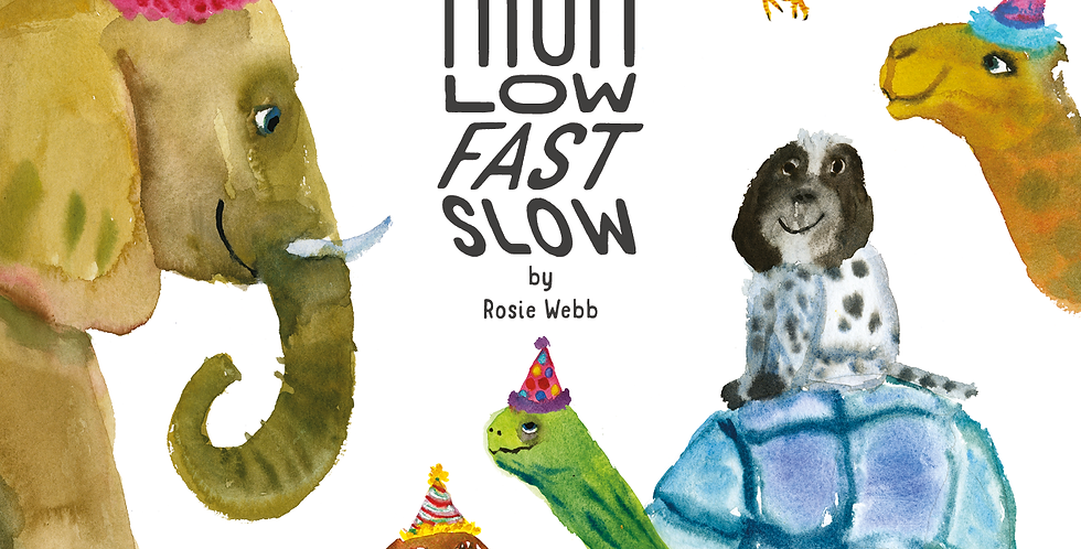 High Low Fast Slow, Children's Book