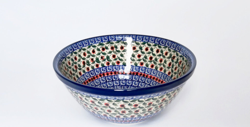 Small serving bowl in Cranberry 20cm