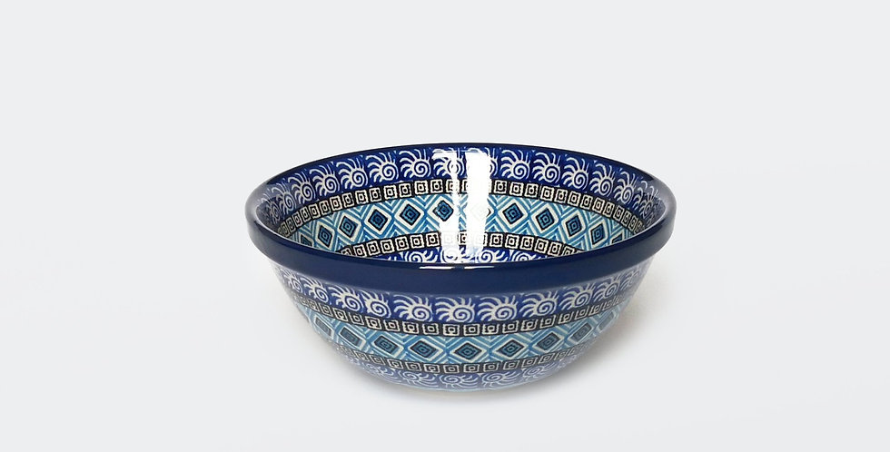Large Cereal Bowl in Blue Maroc