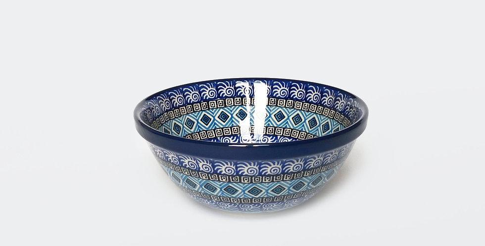 Pasta bowl in Blue Maroc 17cm