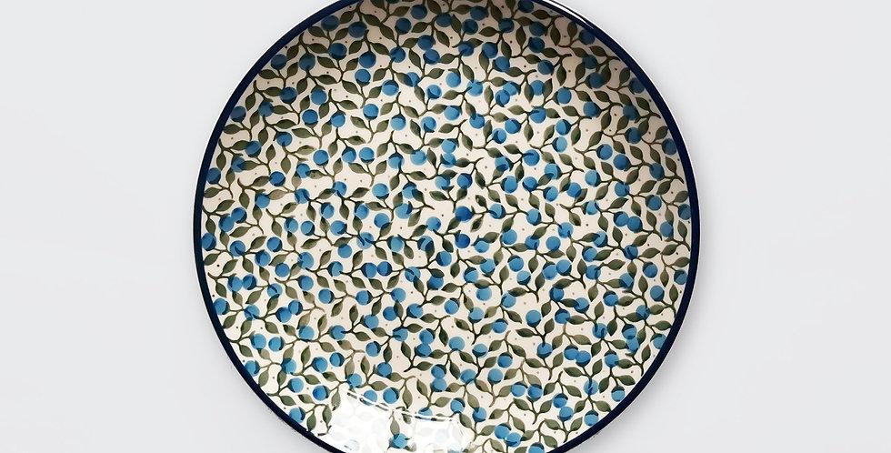 Breakfast Plate in Sloe Berry 20cm