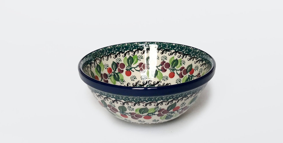 Large Cereal Bowl in Plum Tree