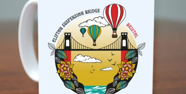 Suspension Bridge Mug