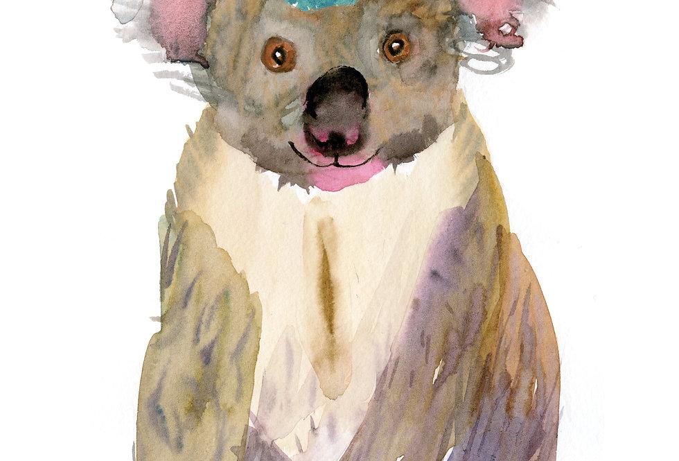 Party Koala Print