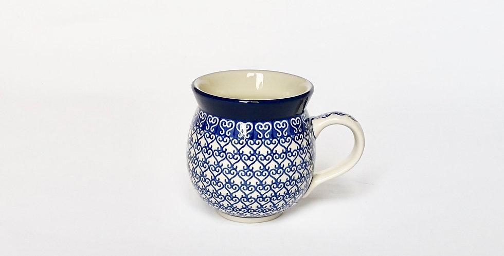 Medium Woodsman Mug in Venetian Hearts 350ml