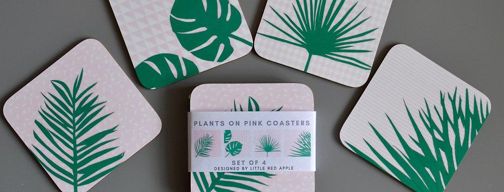Palm Coasters Set
