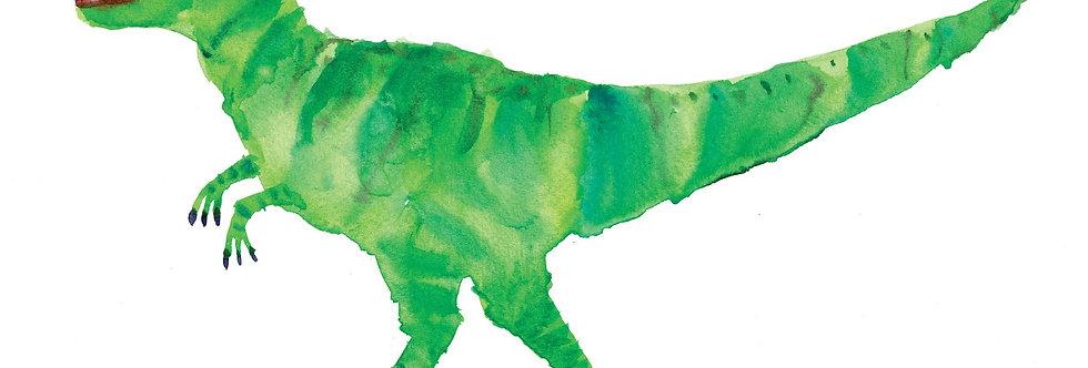 T-Rex in Specs Print