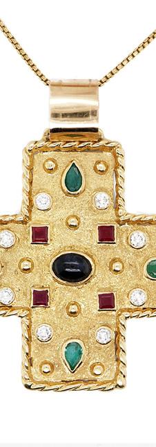 Large Jewel Necklace