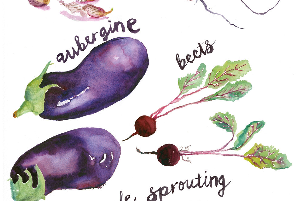 Fresh Food 2 Print