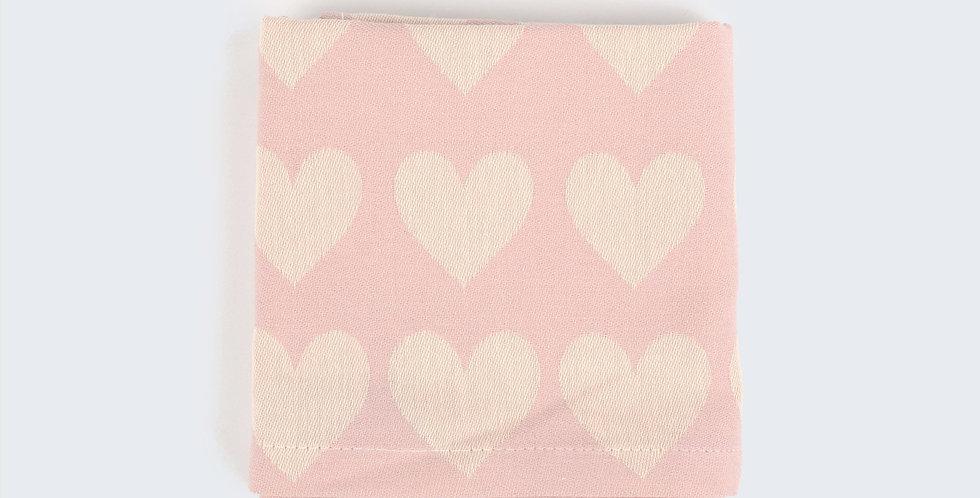 Teatowel in Pink Hearts