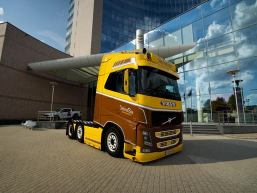 [PHOTO] Le Volvo FH4 de Bram Buys est le 'Plus beau camion Volvo' de Belgique