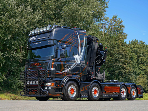 [Schijf je hier in] Heb jij de mooiste Scania V8 van België?
