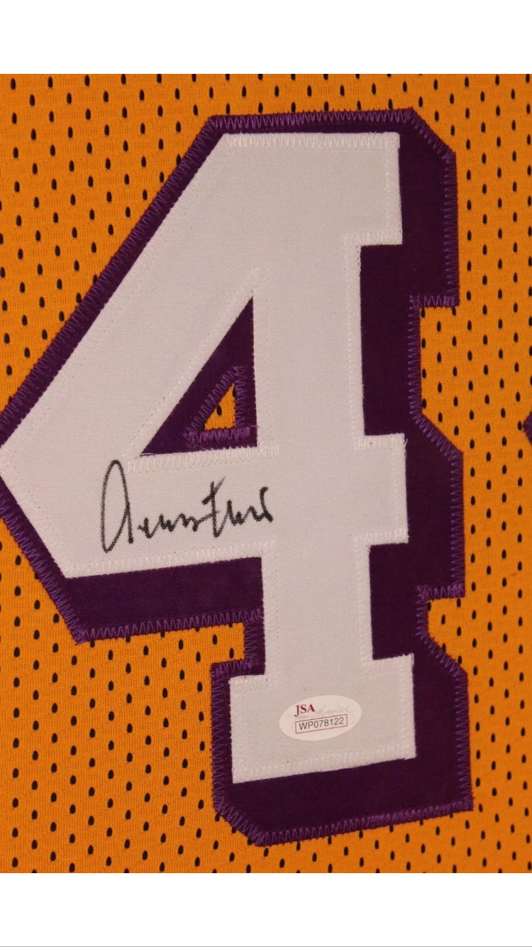 best service e62a8 2a0b6 Jerry West Signed and Framed Jersey - Lakers | memorabilia
